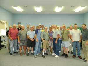 Men's Breakfast August 2013